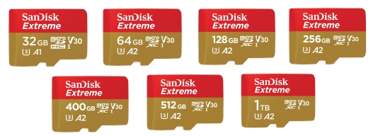 SanDisk Extreme Micro SD Card Supplier