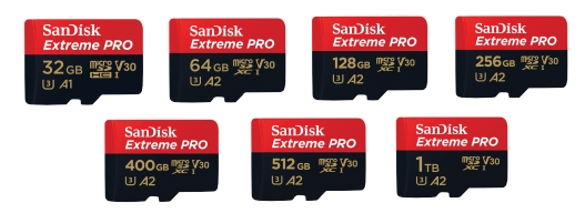 SanDisk Extreme Pro Micro SD Card Supplier